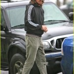 Christian Bale Bundles Up at Blue Plate Oysterette (Dec. 17th, 2010)