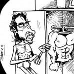 Christian Bale Caricature By Bartik