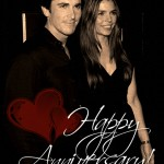 Happy Anniversary to Mr. & Mrs. Bale!