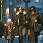 Christian Bale & Family Explore The Berlin City Center