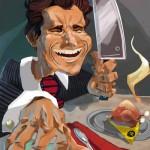 A Really Good Digital Painting Of Patrick Bateman