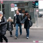 Christian Bale Hangs Out With His Family In Berlin