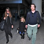 Christian Bale & Family Land In L.A. [February 22nd, 2012]