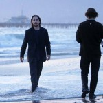 Christian Bale And Wes Bentley Filming In Santa Monica [April 3rd, 2012]