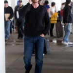 Christian Bale Arriving at LAX Airport [April 1st, 2012]