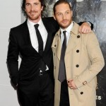Christian Bale & Tom Hardy At The London Premiere