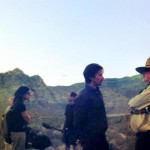 Christian Bale Filming With Terrence Malick In Nevada