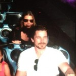 Photo Of The Bale Family Riding Space Mountain [September 5th, 2012]