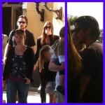 Christian Bale & Family Spotted @ California Adventures [November 1st, 2012]