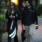 Mr. & Mrs. Bale Out & About [December 17th, 2012]