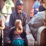 Christian Bale Spotted At Disneyland Yesterday