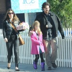 Christian Bale & Family Out & About [January 7th, 2013]