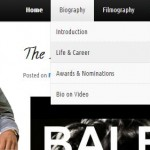 New Look & Navigation For The Biography Section Of The Blog