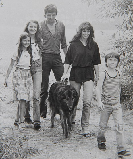 The D. Bale Family  in 1983