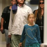 The Bale Family Landing At LAX [January 31st, 2013]