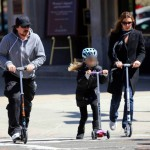 Christian Bale & Family Having Fun In Boston! (April 6th, 2013)