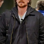 Christian Bale Arriving At Boston Airport (April 1st, 2013)