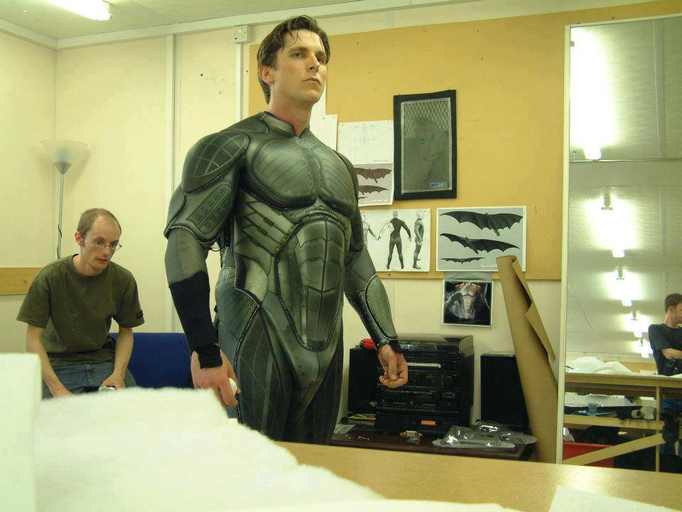 Batman begins backstage