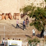 christian bale flming exodus 13 150x150 More On Set Photos / Christian Bale Filming Exodus
