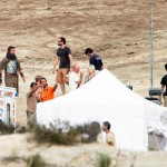 christian bale flming exodus 3 150x150 More On Set Photos / Christian Bale Filming Exodus