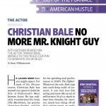 Entertainment Weekly's Holiday Movie Preview Issue – The Christian Bale Scans