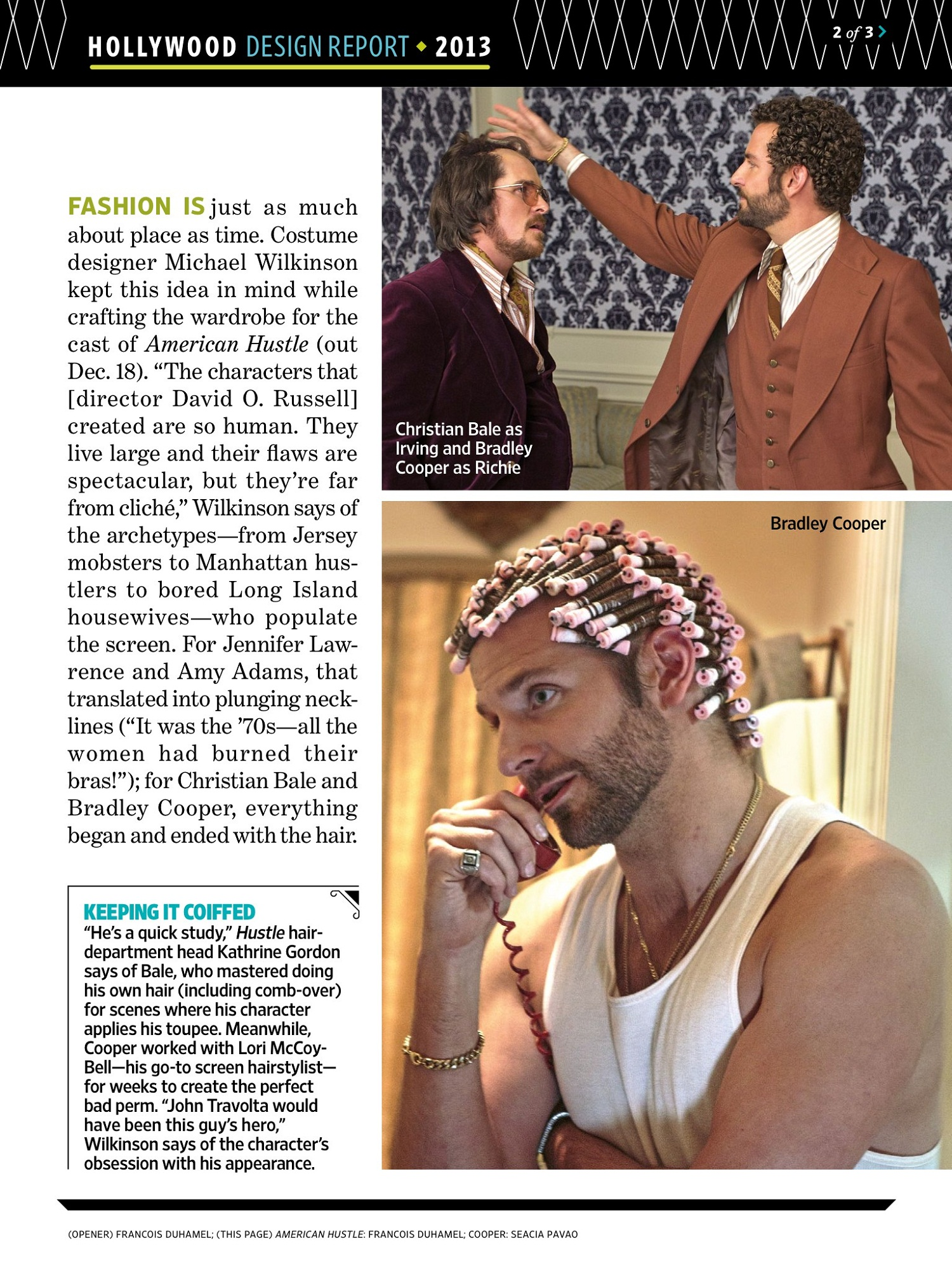 ew 22 nov 2013 002 Entertainment Weekly: The Look Of American Hustle (Scans)