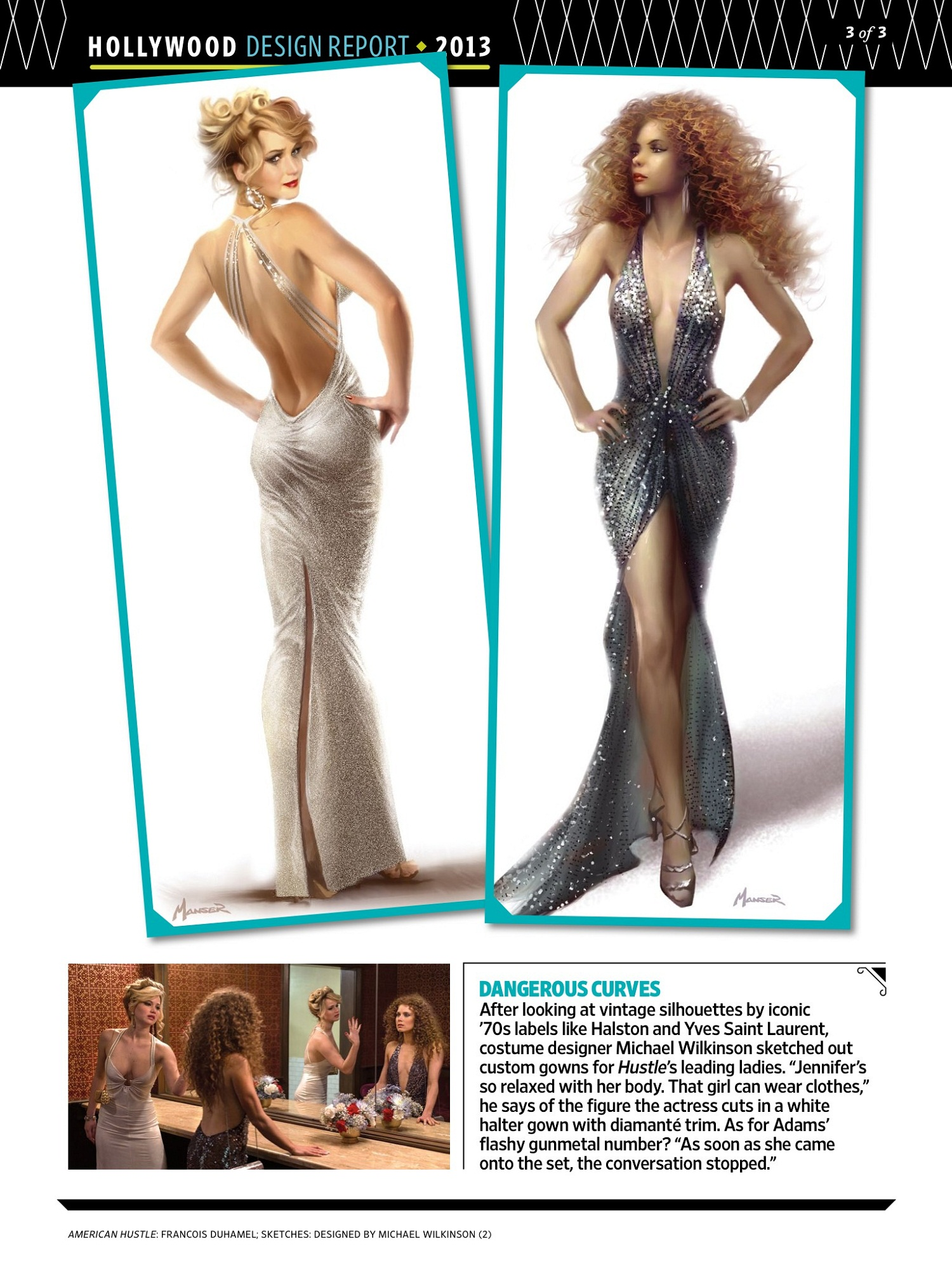 ew 22 nov 2013 003 Entertainment Weekly: The Look Of American Hustle (Scans)