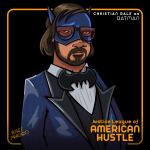 'American Hustle' F(u)n Art: Christian Bale