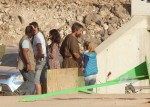 Random Photos Of Christian Bale On 'Exodus' Set