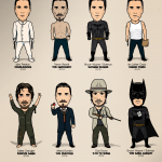Christian Bale Fan Art: Movie Characters 2000-2012