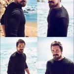 Christian Bale Seaside Photoshoot