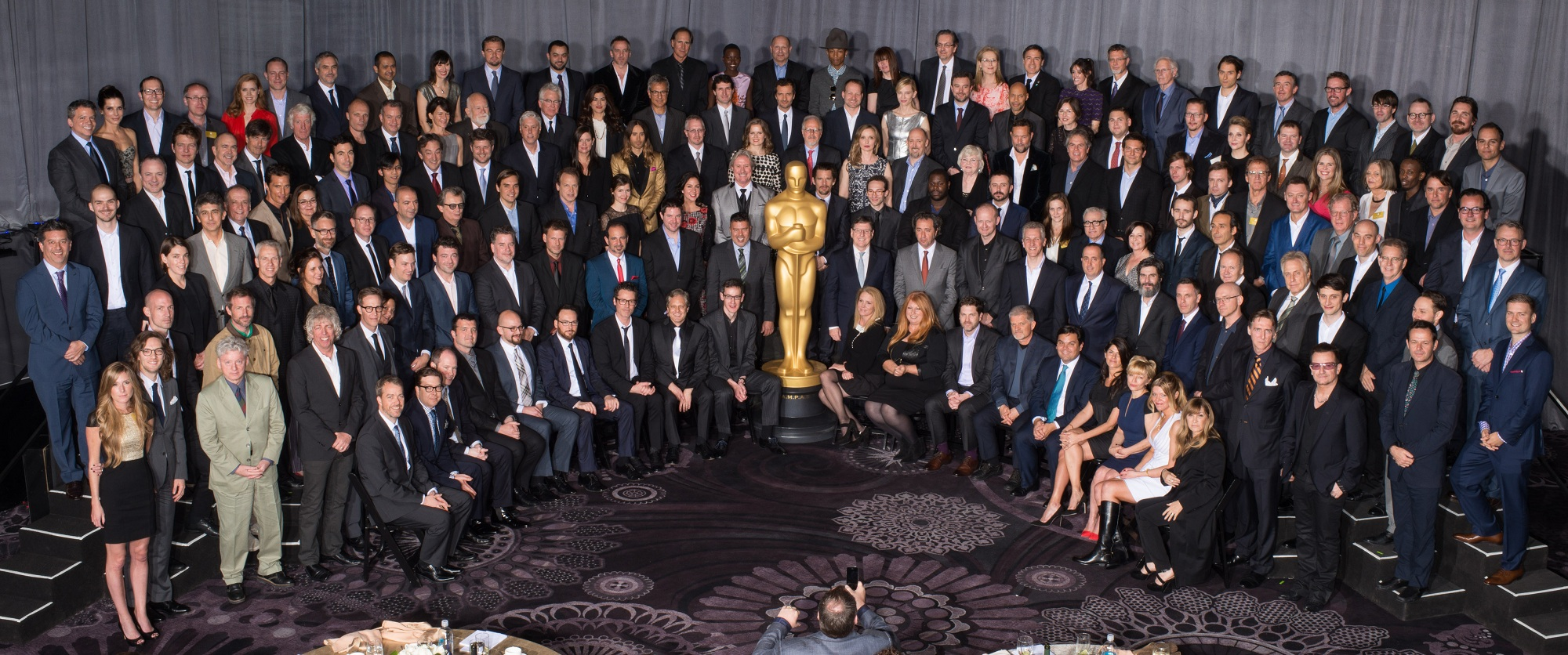 86th Oscars®, Nominees Luncheon, Group Photo