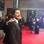 Christian Bale @ The BAFTAs – Instagram Pic