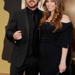 Mr. & Mrs. Bale Arrive @ The Oscars