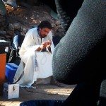 Christian Bale On 'Exodus' Set Instagram Pic