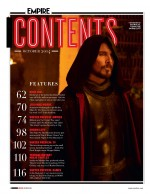 Empire Magazine Winter Preview: December | 'Exodus: Gods And Kings' [October Issue Scans]