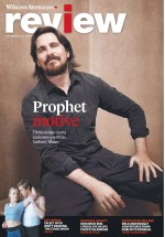 Christian Bale On The Cover Of The Weekend Australian Review