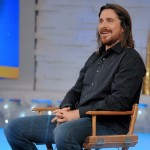 Photos Of Christian Bale On 'Good Morning America' (December 8th, 2014)
