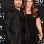 Mr. & Mrs. Bale @ The Exodus NY Premiere Yesterday