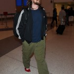 Christian Bale @ LAX (March 6th, 2015)