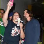 Christian Bale Arriving @ LAX (April 4th, 2015)