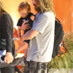 Christian Bale And Family Out To Dinner (August 28th, 2015)