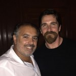 Christian Bale with Chef Olivier Costa in Lisbon, Portugal [September 12th, 2015]