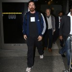 Christian Bale Arriving At LAX Yesterday