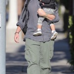 Christian Bale & Son Out & About In Santa Monica (February 2nd, 2016)