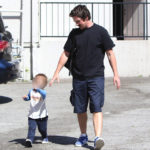Christian Bale & Son Out On Monday (March 13th, 2017)