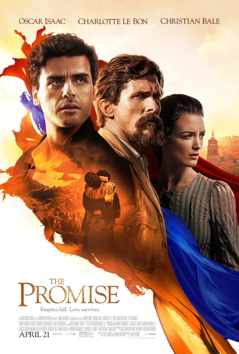 Meet christian bale chris cornell and serj tankian at the premiere new poster for the promise kristyandbryce Images
