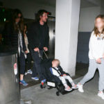 The Bale Family Arriving At LAX (April 20th, 2017)