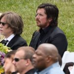 Christian Bale Attended Chris Cornell's Memorial Service (May 26th, 2017)