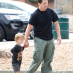 Christian Bale & Son Enjoy Their Time Together (September 17th, 2017)